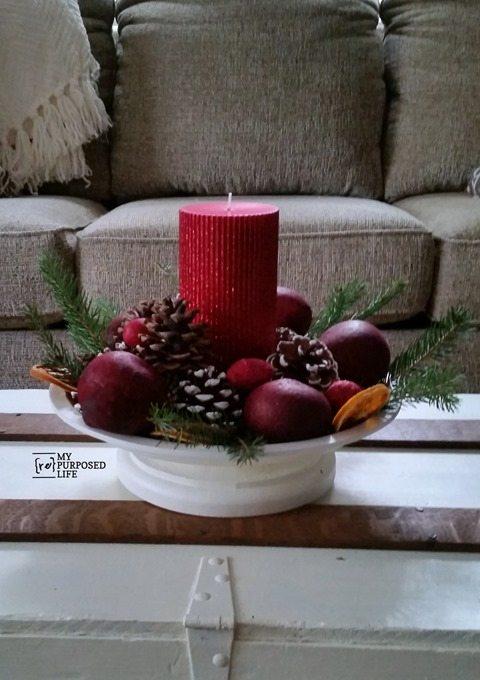 Easy Christmas Decor update with Krylon
