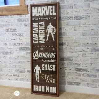 Avengers Subway Art