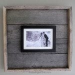 Easy diy Pallet Wood Frame