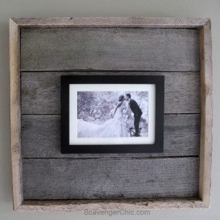 Easy Pallet Wood Frame