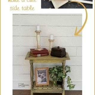 Cabinet Door Table : Easy Build
