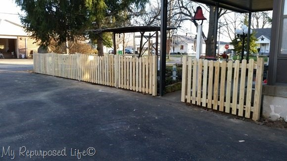 Driveway Side Diy Picket Fence
