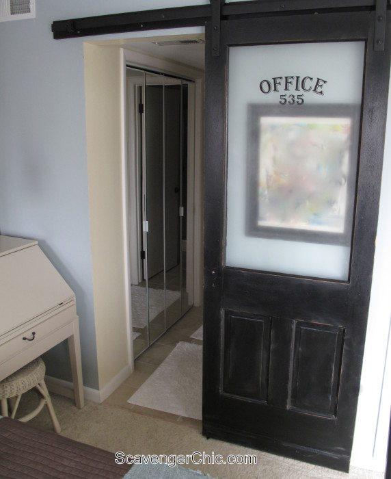 Sliding Barn Door Bathroom Privacy: Sliding Barn Door For The Bathroom
