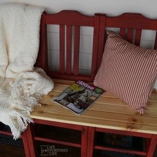 Red Chair Bench Tutorial