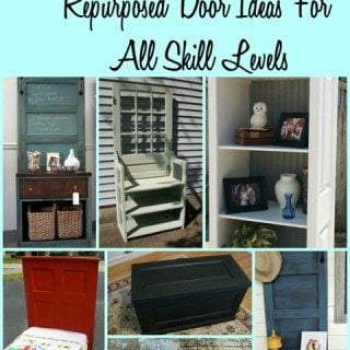 Old Door : Project Ideas for Repurposed Doors