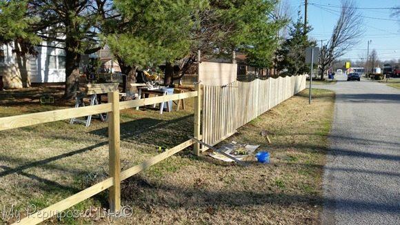 Saw Station Diy Picket Fence