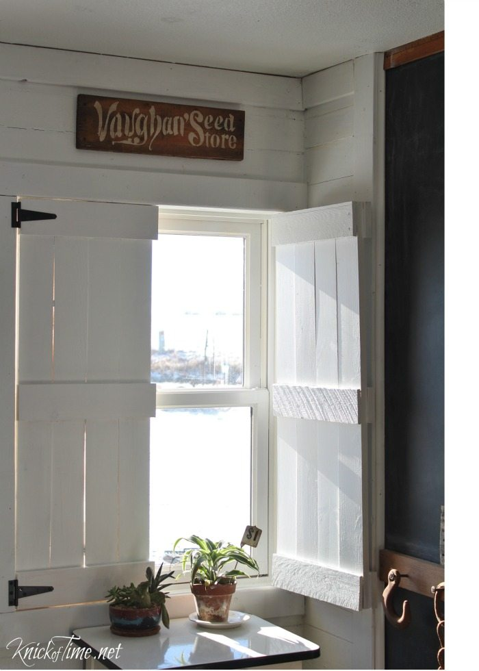 Farmhouse Wooden Shutters Make Your Own My Repurposed Life 174
