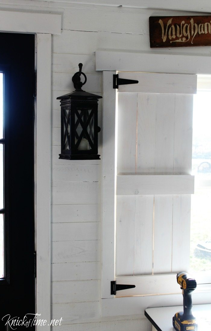 Diy Farmhouse Wooden Shutters My Repurposed Life 174