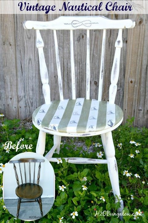 Vintage-Nautical-chair-makeover-H2OBungalow
