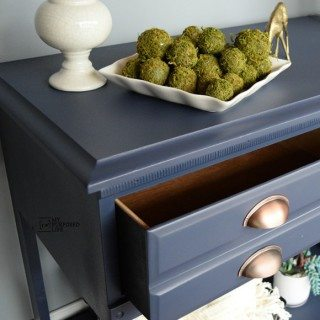 Hall Table Repurposed Dresser