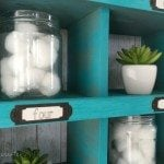 Old Drawer Cubby Organizer