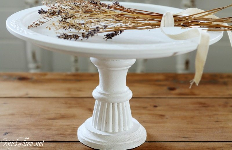 Pie Plate Pedestal Stand My Repurposed Life