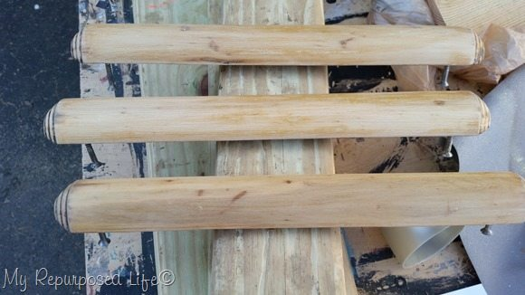 waterfall wooden drawer handles