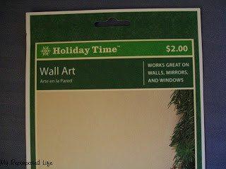 easy (cheap) Christmas vinyl project