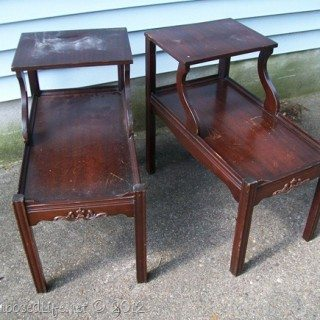 Pair of Nightmare Tables