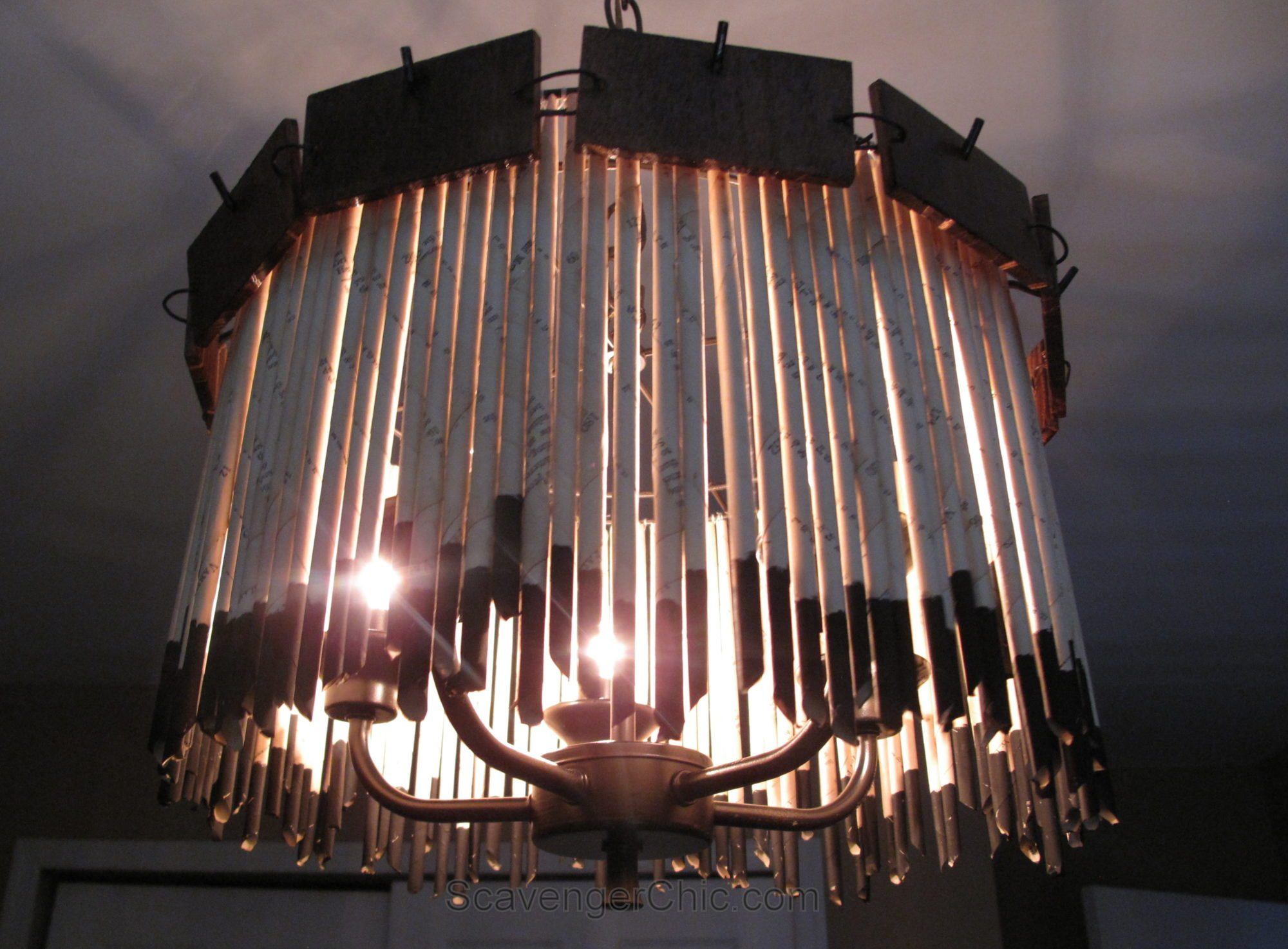 Rusty Chandelier at Home and Interior Design Ideas