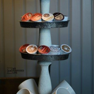 Tiered Stand Coffee Station Organizer