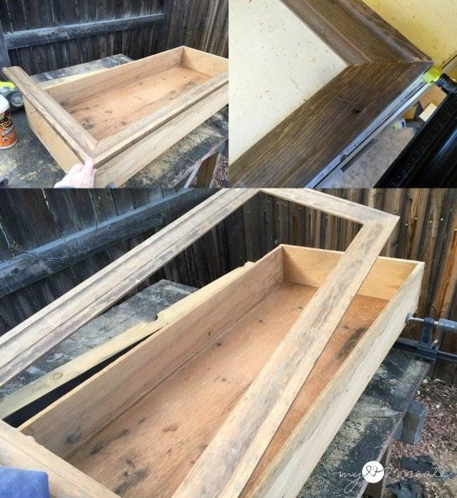 making drawer cabinet face frame