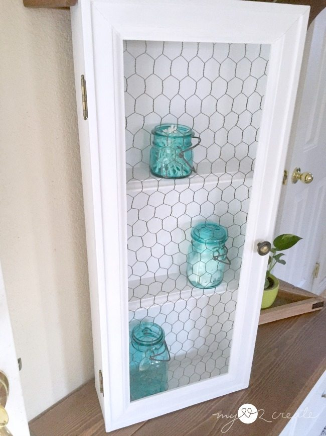 Old Drawer Cabinet - My Repurposed Life®