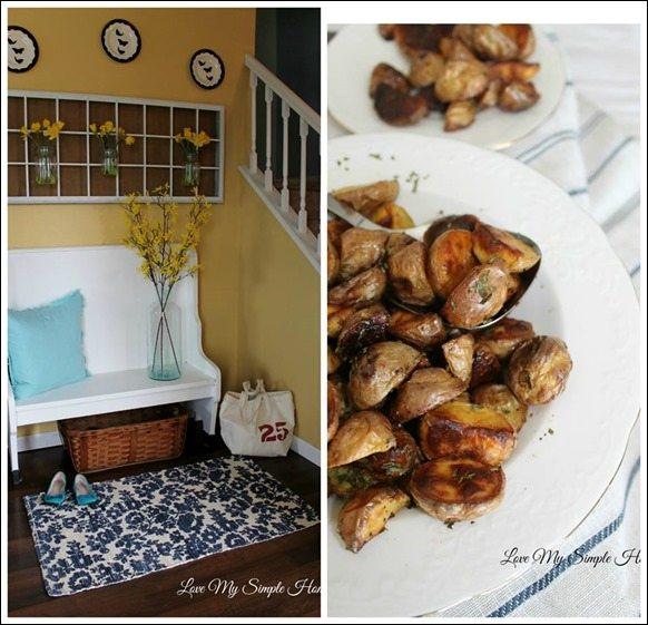 this week at Love My Simple Home