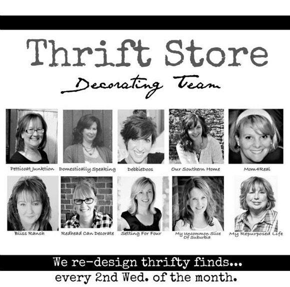 thrift store decor bloggers
