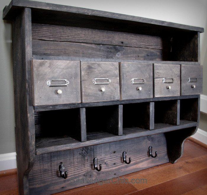 Pallet Wood Shelf My Repurposed Life