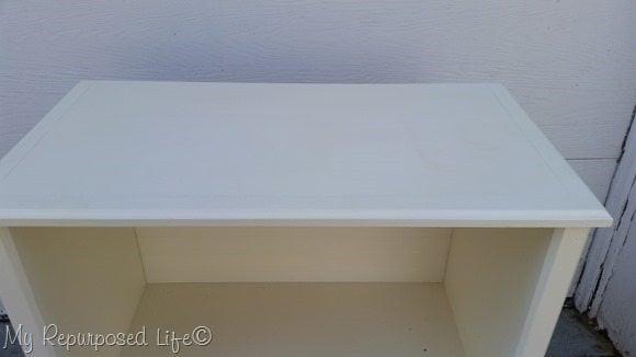 boring white cabinet