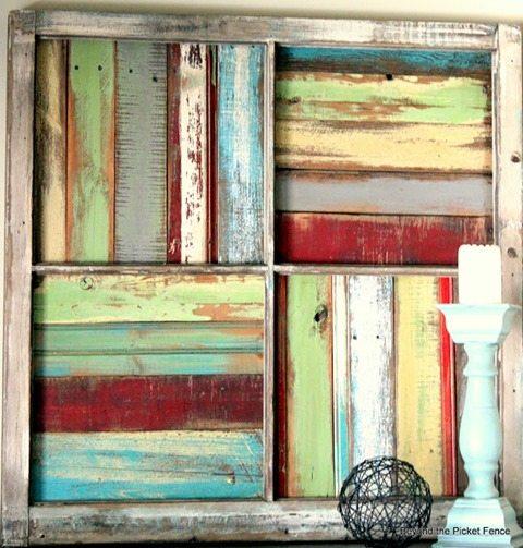 old window scrap boards