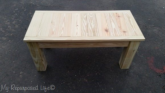 outdoor coffee table complete
