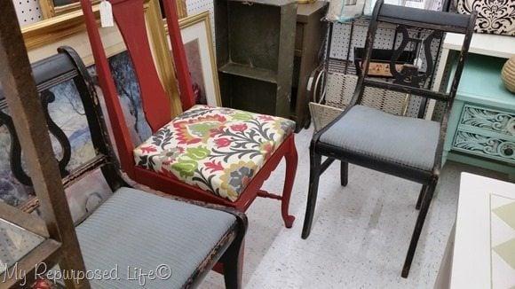 Vintage Chairs Vendors Village