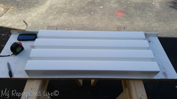 vinyl gutters cut for hanging gutter planters