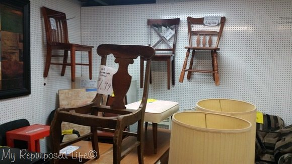 booth of chairs