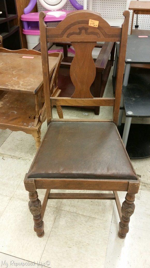 cheap wooden chair