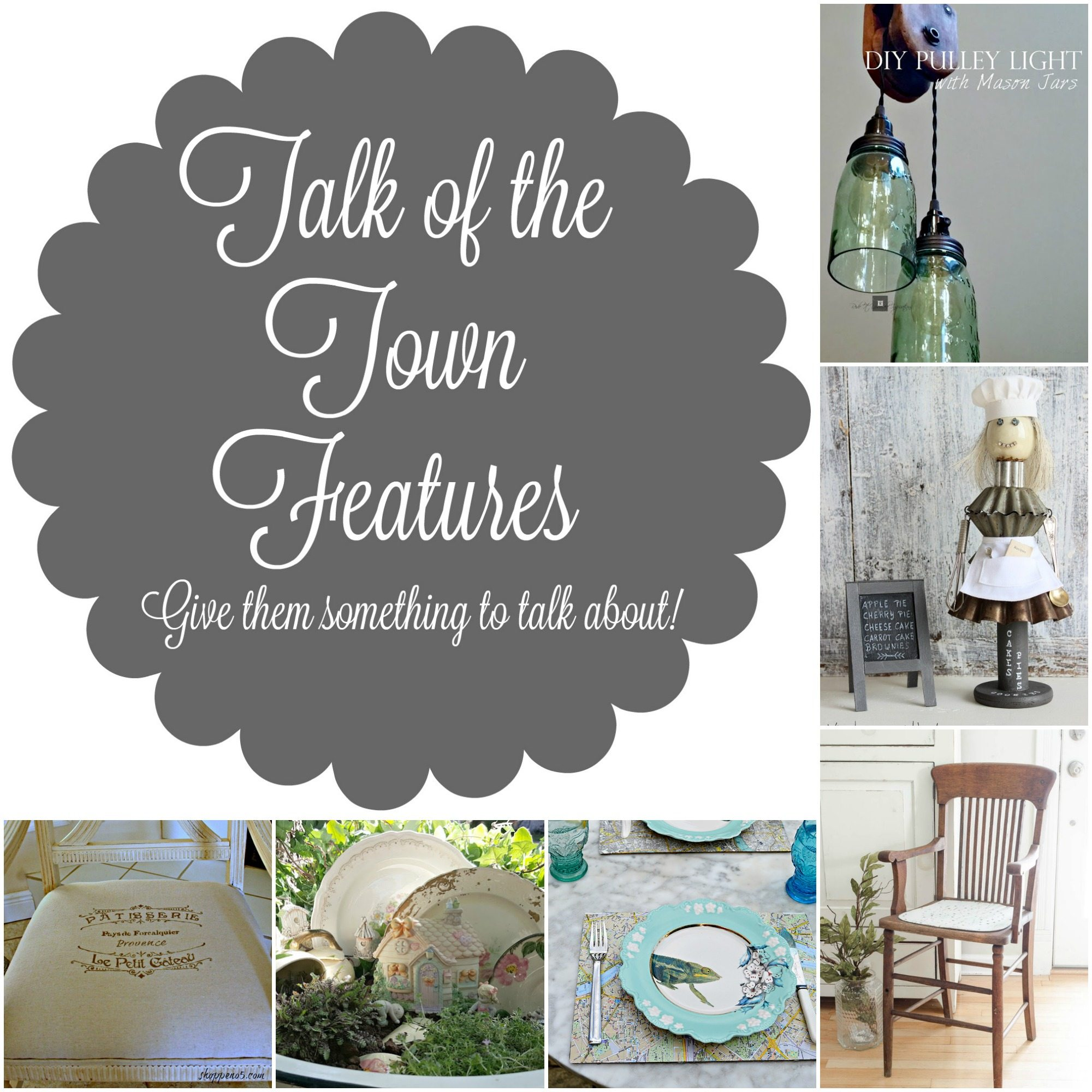 talk about my town Inspired by a mother's group sara gilbert went to after she had her baby, the talk is a group of moms who get together to talk family issues, current events, celebrity gossip, and personal stories.