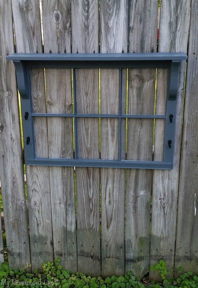 gray window shelf easy project