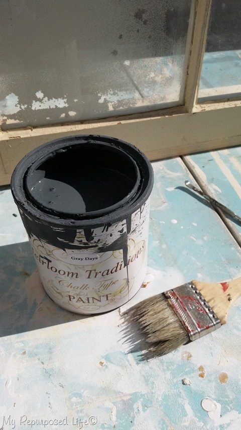 heirloom traditions gray days chalk type paint