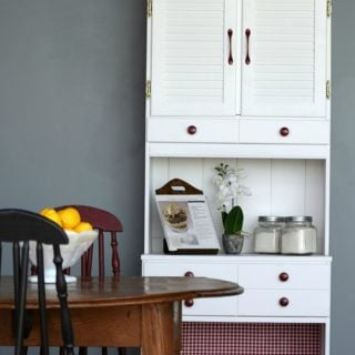 Kitchen Hutch Makeover | Remake