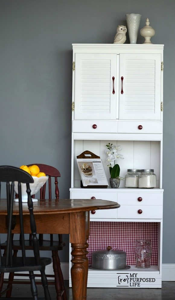 kitchen hutch MyRepurposedLife.com