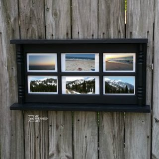 Photo Display Wall Shelf