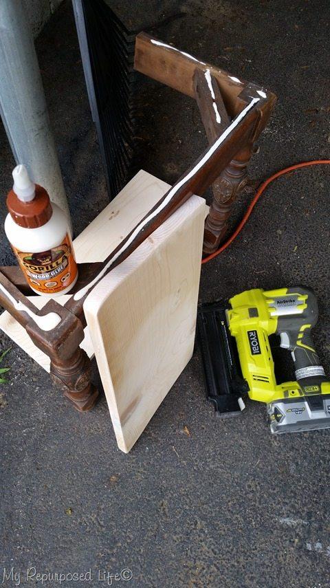 attach board for wall shelf