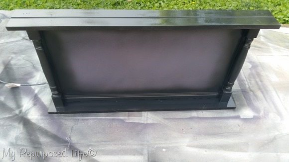 finish max large cabinet door chalkboard