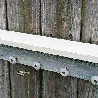 scrap wood jewelry shelf