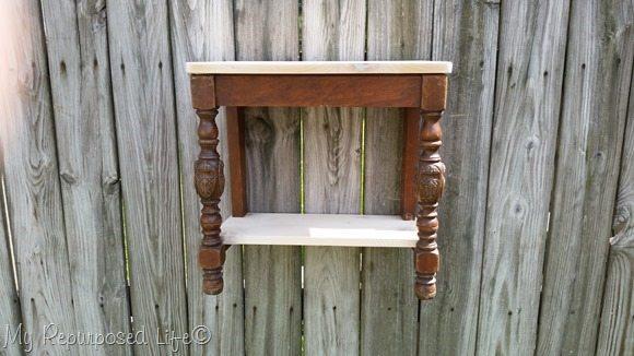 updated chair wall shelf
