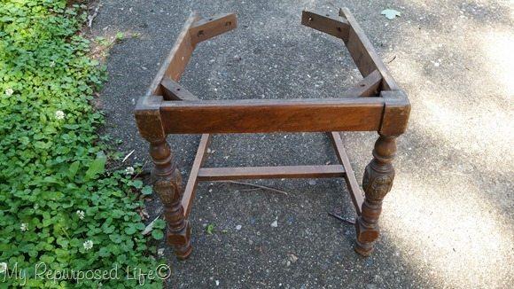 vintage chair bottom