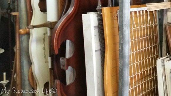 headboard storage rack