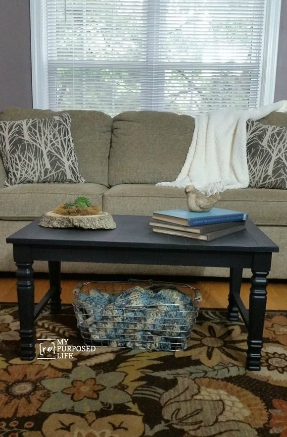 How To Make A Coffee Table Using Chair Legs And Wood