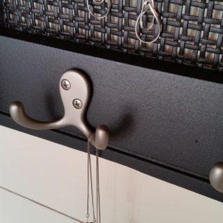 Chair Back Jewelry Display