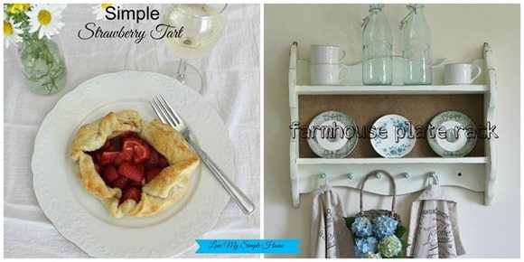 farmhouse plate rack