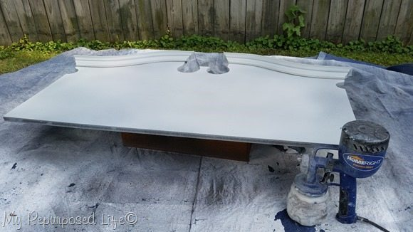 finish max dry brush polished pearl over beluga