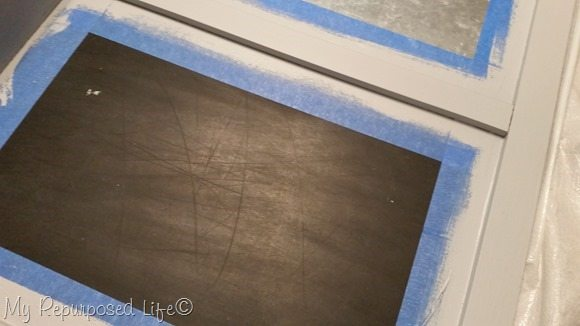 gray diy chalky paint primer